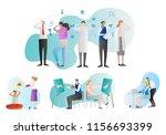 telepathy vector illustration... | Shutterstock .eps vector #1156693399