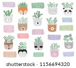 vector collection of house... | Shutterstock .eps vector #1156694320