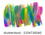 abstract art background hand... | Shutterstock . vector #1156718260