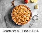 composition with delicious... | Shutterstock . vector #1156718716