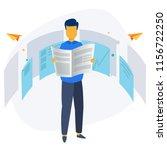 news update  online news ... | Shutterstock .eps vector #1156722250
