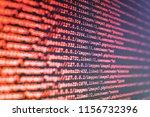 database bits access stream...   Shutterstock . vector #1156732396