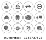 shipping icons set   delivery... | Shutterstock .eps vector #1156737526