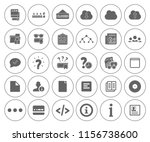 information icons set   info... | Shutterstock .eps vector #1156738600