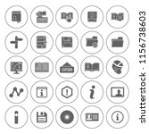 information icons set   info... | Shutterstock .eps vector #1156738603