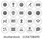 sports  icons  video game icons ... | Shutterstock .eps vector #1156738690