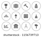 building icons set   vector... | Shutterstock .eps vector #1156739713