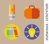 education vector icons set.... | Shutterstock .eps vector #1156747630