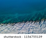 aerial view of rocks on the sea.... | Shutterstock . vector #1156755139