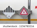 marking of hazardous goods on a ...   Shutterstock . vector #1156783216