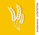 wheat oats logo   Shutterstock .eps vector #1156787236
