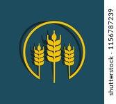 wheat oats logo   Shutterstock .eps vector #1156787239