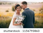 happy couple.wedding photo... | Shutterstock . vector #1156793863