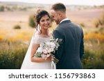happy couple.wedding photo... | Shutterstock . vector #1156793863