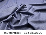fabric wool suit blue  melange | Shutterstock . vector #1156810120