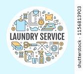 dry cleaning  banner... | Shutterstock .eps vector #1156813903