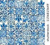 ceramic tiles seamless pattern. ...   Shutterstock . vector #1156815649