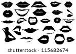 kızgın,güzel,siyah,kapalı,kolaj,koleksiyonu,dağılımı,kozmetik,duygu,ifade,yüz bakımı,erkek,kız,seksi,grafik
