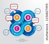 infographic concept  vector | Shutterstock .eps vector #1156827493