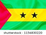 sao tome and principe fabric... | Shutterstock . vector #1156830220