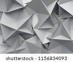 3d rendering abstract... | Shutterstock . vector #1156834093