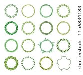collection of different green...   Shutterstock .eps vector #1156834183