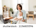 multi tasking  freelance and... | Shutterstock . vector #1156835596