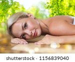 spa  wellness and relaxation... | Shutterstock . vector #1156839040