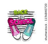 back to school creative... | Shutterstock .eps vector #1156840720