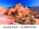 red rock canyon sandstone... | Shutterstock . vector #1156841410