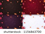 Set Of Autumn Backgrounds With...