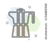coffee maker icon vector can be ... | Shutterstock .eps vector #1156883500