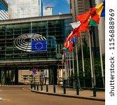 brussels  belgium   may 20 ... | Shutterstock . vector #1156888969