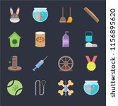 set of 16 icons such as... | Shutterstock .eps vector #1156895620