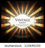 vintage background | Shutterstock .eps vector #115690150