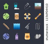 set of 16 icons such as... | Shutterstock .eps vector #1156904410