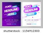 vector layout design template... | Shutterstock .eps vector #1156912303