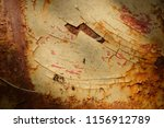 iron rust from old cars. | Shutterstock . vector #1156912789