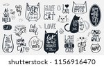 big vector set with 21... | Shutterstock .eps vector #1156916470