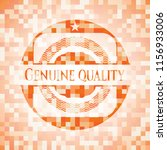 genuine quality orange mosaic... | Shutterstock .eps vector #1156933006