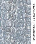 seamless  snake skin texture... | Shutterstock . vector #1156940956