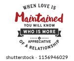 when love is maintained you... | Shutterstock .eps vector #1156946029