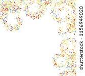 sprinkles grainy. sweet... | Shutterstock .eps vector #1156949020