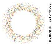 sprinkles grainy. sweet... | Shutterstock .eps vector #1156949026