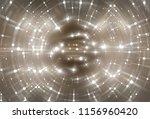 brilliant gold tunnel... | Shutterstock . vector #1156960420