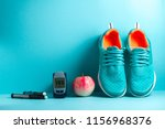 concept of a healthy diabetic.... | Shutterstock . vector #1156968376