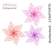 abstract multicolored flowers...   Shutterstock .eps vector #1156974970