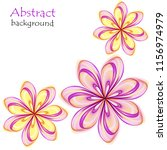 abstract multicolored flowers...   Shutterstock .eps vector #1156974979