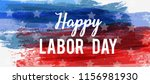 usa labor day holiday... | Shutterstock . vector #1156981930