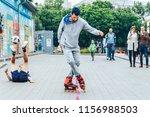 may 13  2018 minsk belarus... | Shutterstock . vector #1156988503